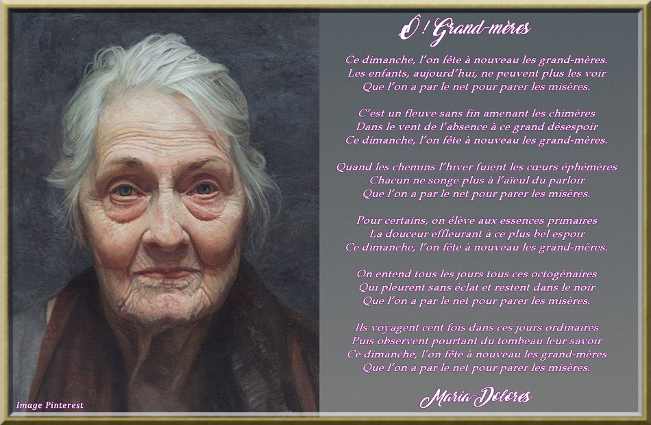 Ô ! grand-mères