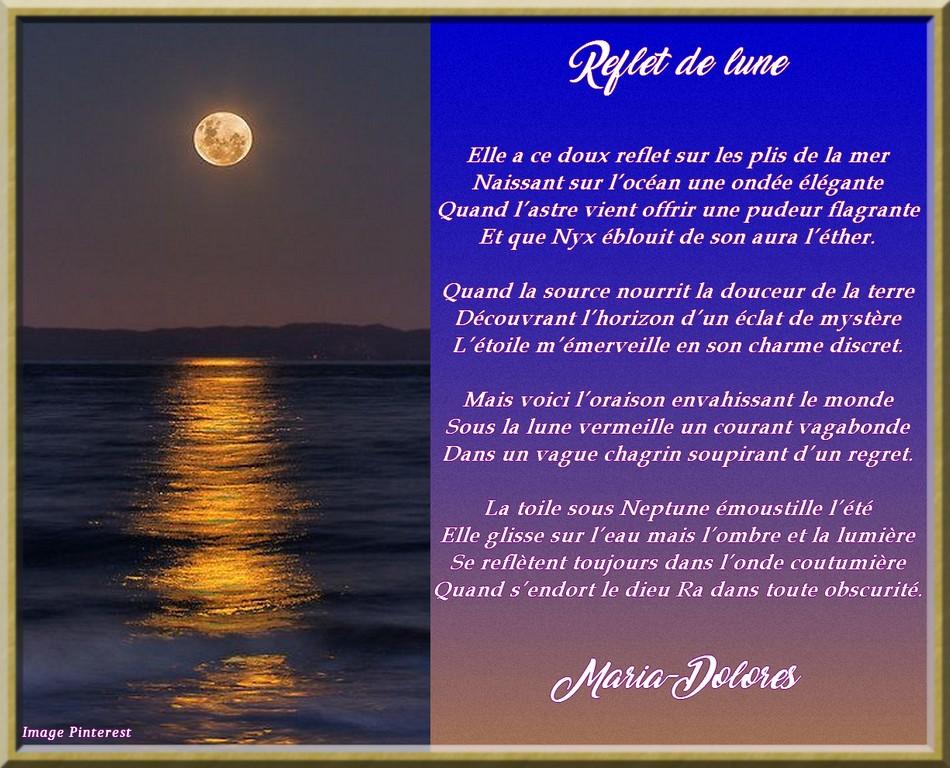 Reflet de lune
