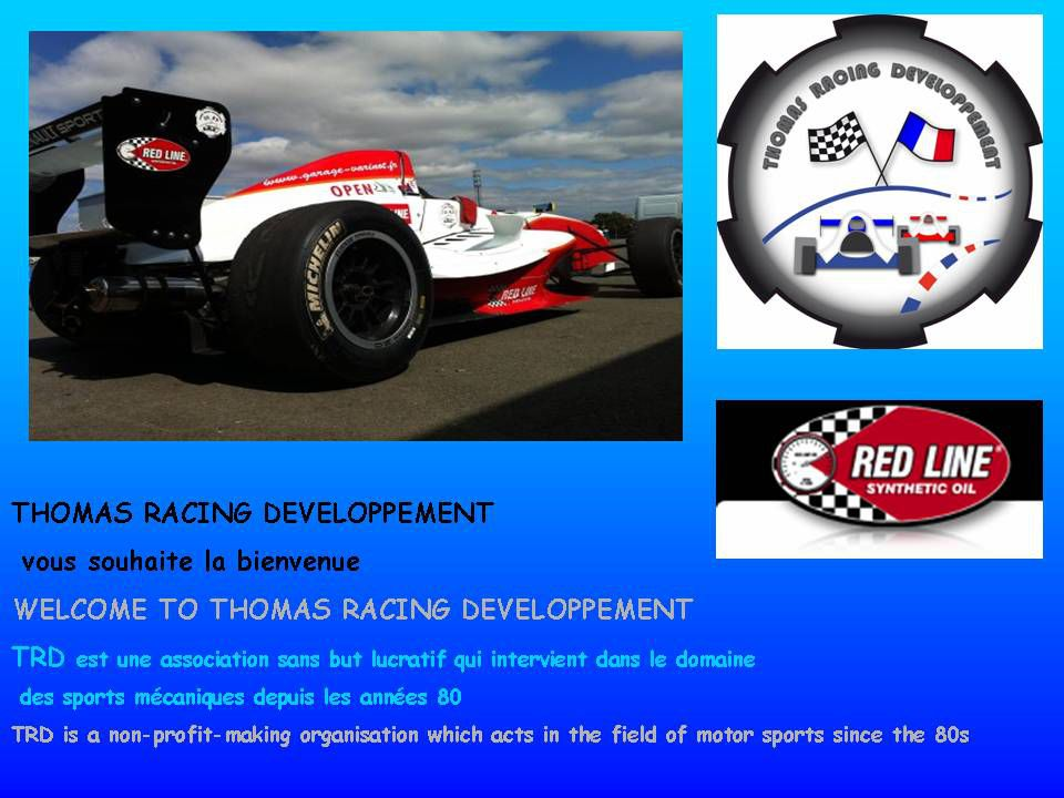 thomas racing developpement. Black Bedroom Furniture Sets. Home Design Ideas