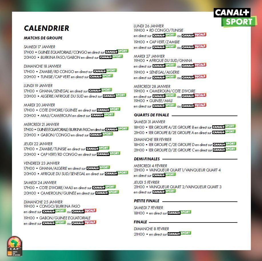 Actualit chaine tv coupe d 39 afrique des nations 2015 voir sur watchtvfr tv direct - Regarder coupe d afrique en direct ...