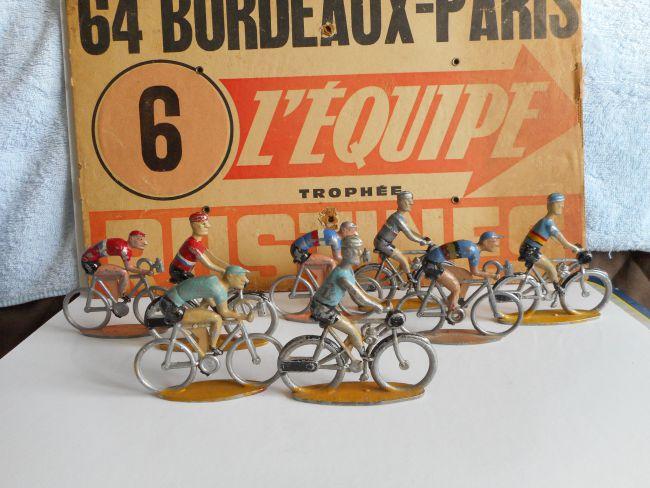 mar35 0003 - Peloton Bordeaux Paris Derny & Cyclistes Cofalu