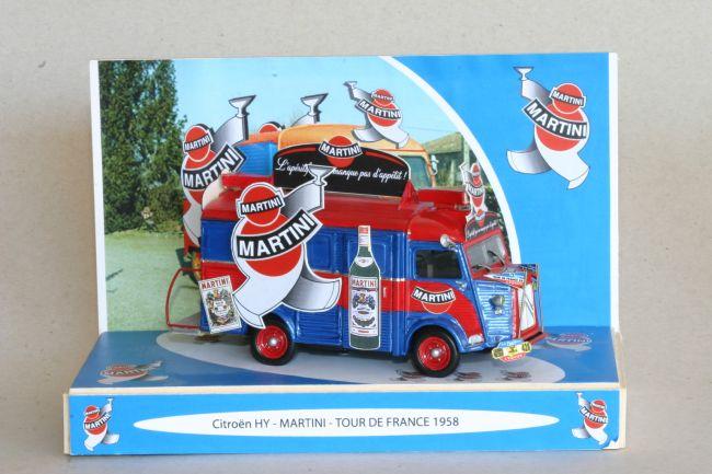 mar35 0291 - Véhicule Citroen HY caravane Martini Tour de France 1958 (réalisation Pascal Foulgot)