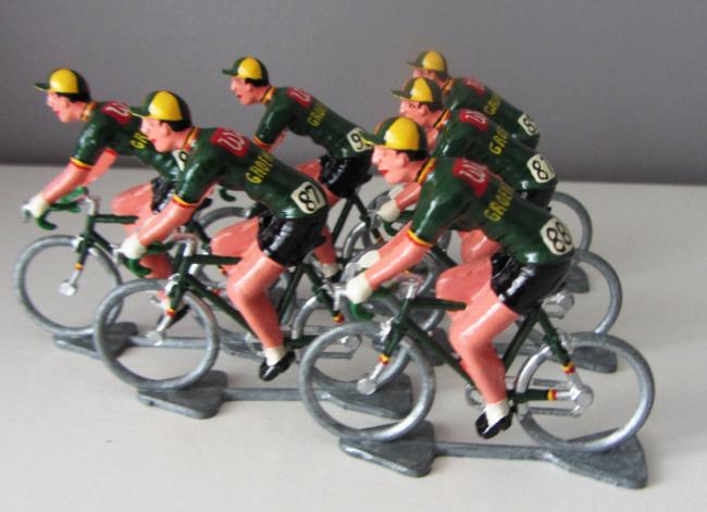 tdf 1962 - 09 Wiel's - Groene Leeuw