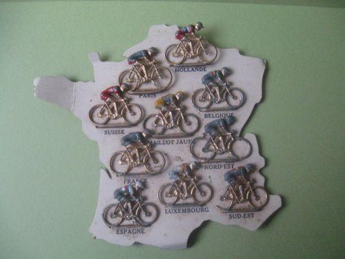 n 04 - cyclistes au 1/43ème en métal