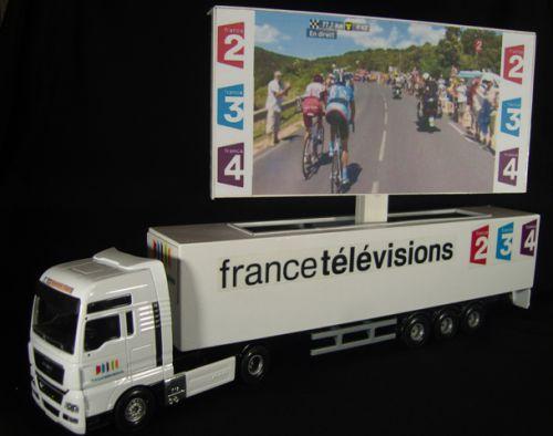 x 01 - Camion Ecran géant France Télévision
