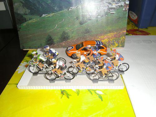 and bel 010 - Evolution du maillot Rabobank de 1988 à 2010