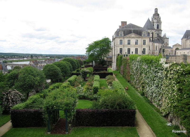 Terrasse basse des jardins de l'évêché