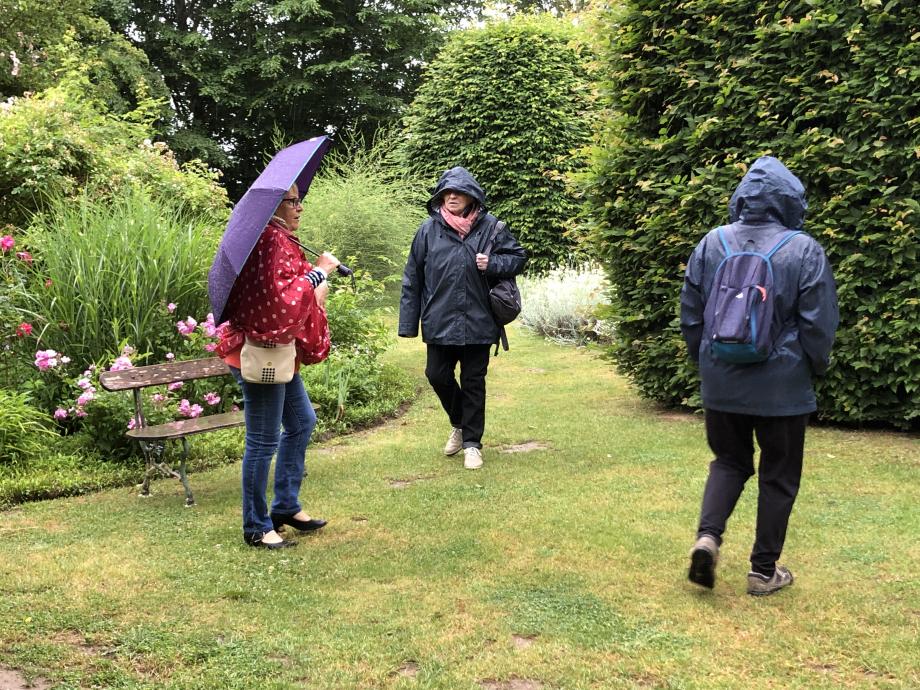 ...Et moi, un parapluie mauve.