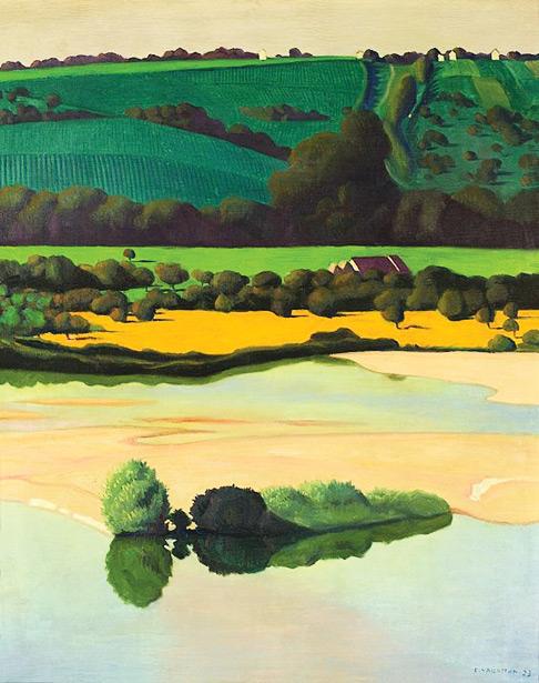 Félix_Vallotton,_1923_-_Un_soir_sur_la_Loire
