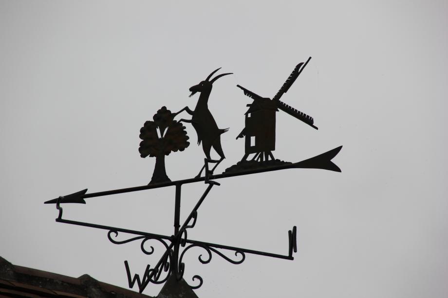 MF-Larigauderie: Chèvre sur arbre, moulin