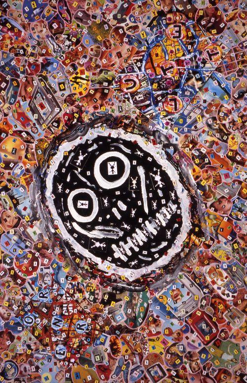 Carlos Ginzburg_série La Subjectivité fractale_2005_1 x 0,75 m