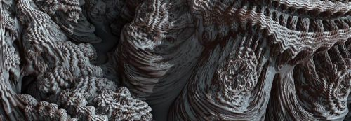 Mandelbulbs_anfractuosités fractales_quaternions