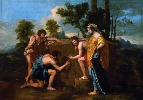 Nicolas Poussin_Et in Arcadia ego_1637-1638_Louvre