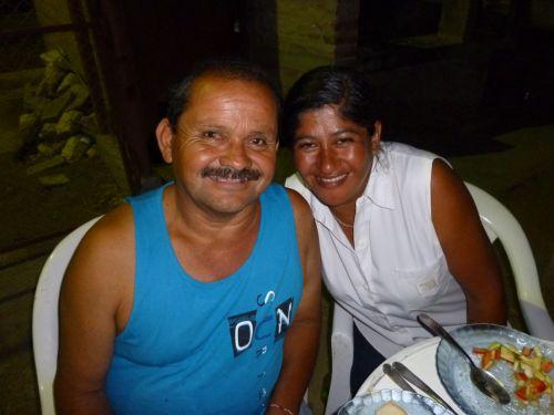 Maria et Jorge, gardien du camping (SanJuan)