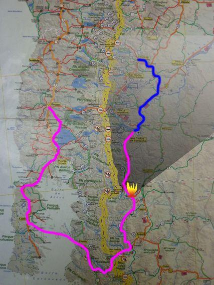 Plan 2 : Junin _-Bariloche - Osorno
