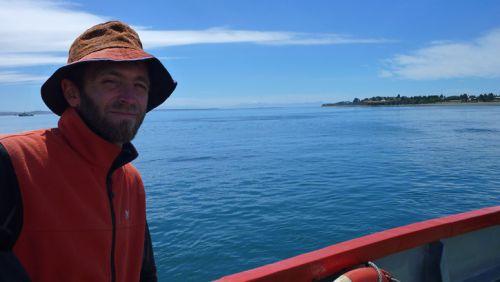 Ferry pour l'ile de Chiloè