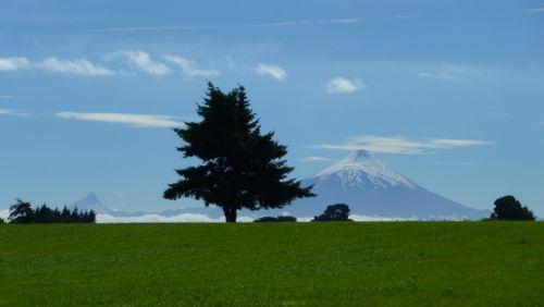 Les volcans Osorno et Puntiagudo