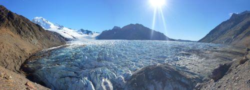 Le Glaciar Rio Tunel