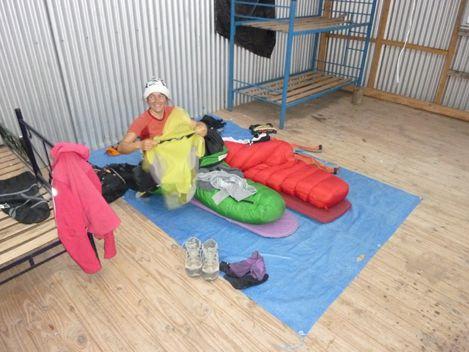 Une estancia nous offre l hospitalite (a l'abri du vent)