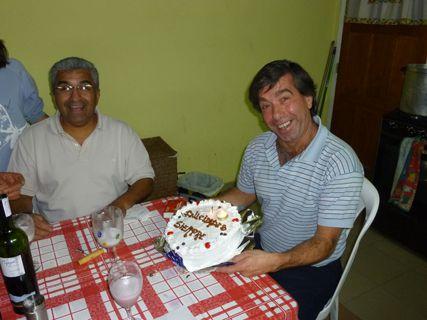 Repas famillial  pour feter l'anniversaire del Chino, le meilleur ami d'Edga