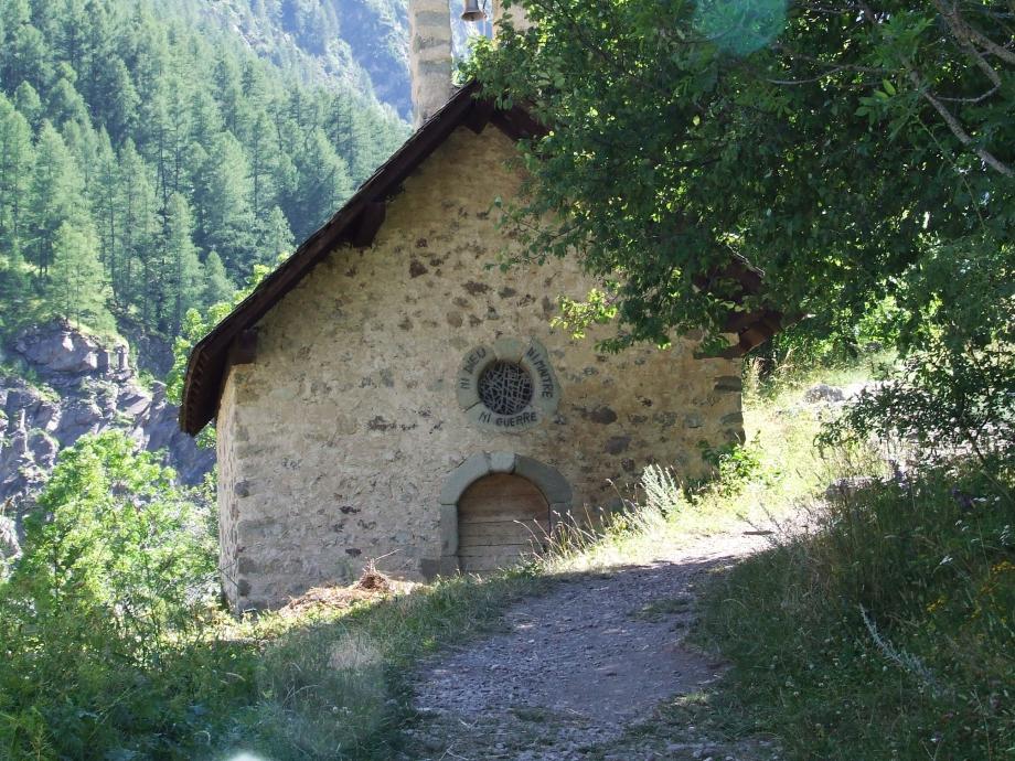 La chapelle des Fermons - Vallée du Tourond -  Haute route du Vieux Chaillol - 26.07.07 - 1.JPG