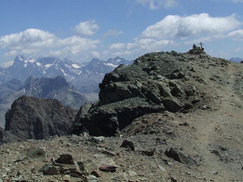 L'autre sommet du Vieux Chaillol - Haute route du Vieux Chaillol - 27.07.07.JPG