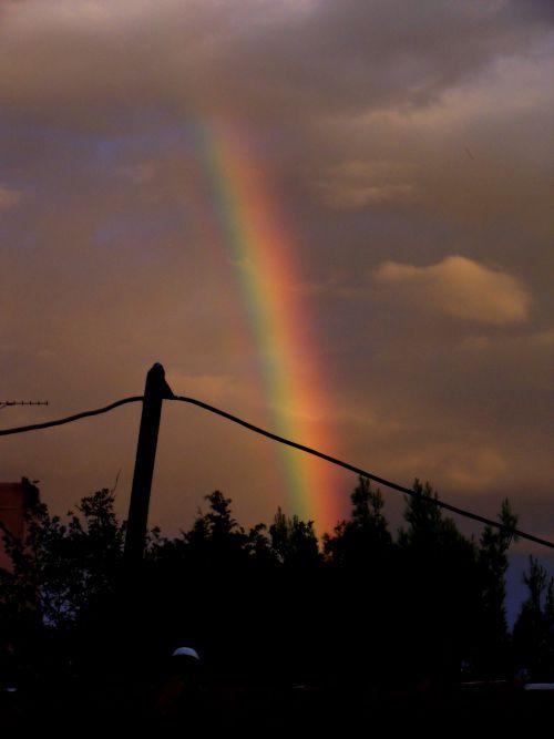 Arc en ciel - Rousset
