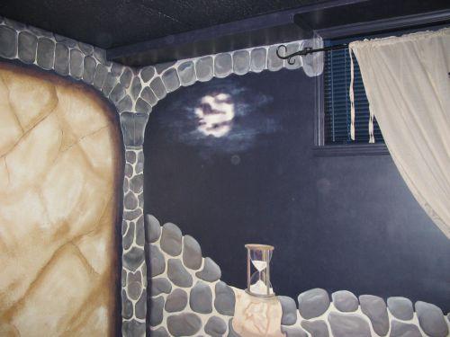 Fresque - Chambre médiévale