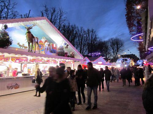 marché de Noël à Paris