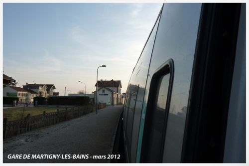 Gare de Martigny-Les-Bains