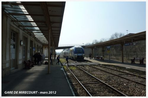 Gare de Mirecourt