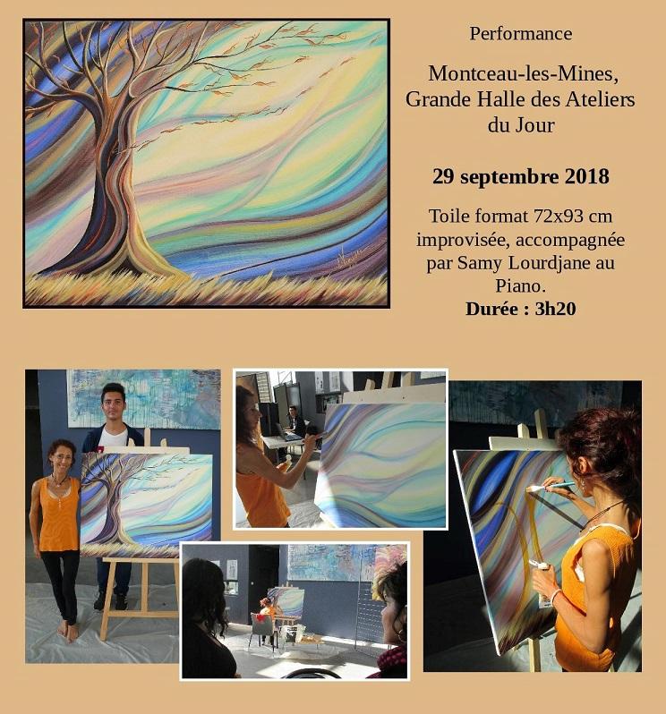 Performance à Montceau-les-Mines, 29 septembre 2018