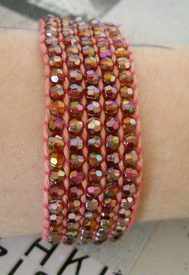 diy comment faire un bracelet en perles tiss es gr cr ation cr atrice de bijoux fantaisie. Black Bedroom Furniture Sets. Home Design Ideas