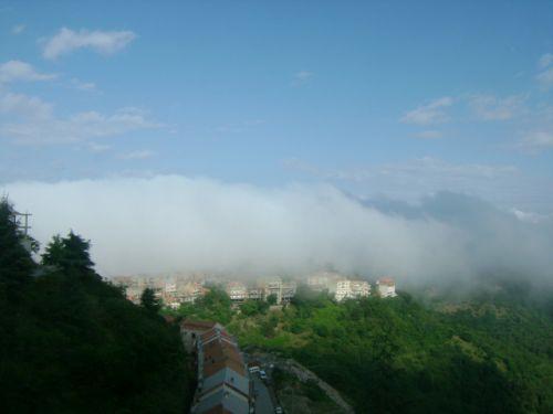 Vague de brouillard