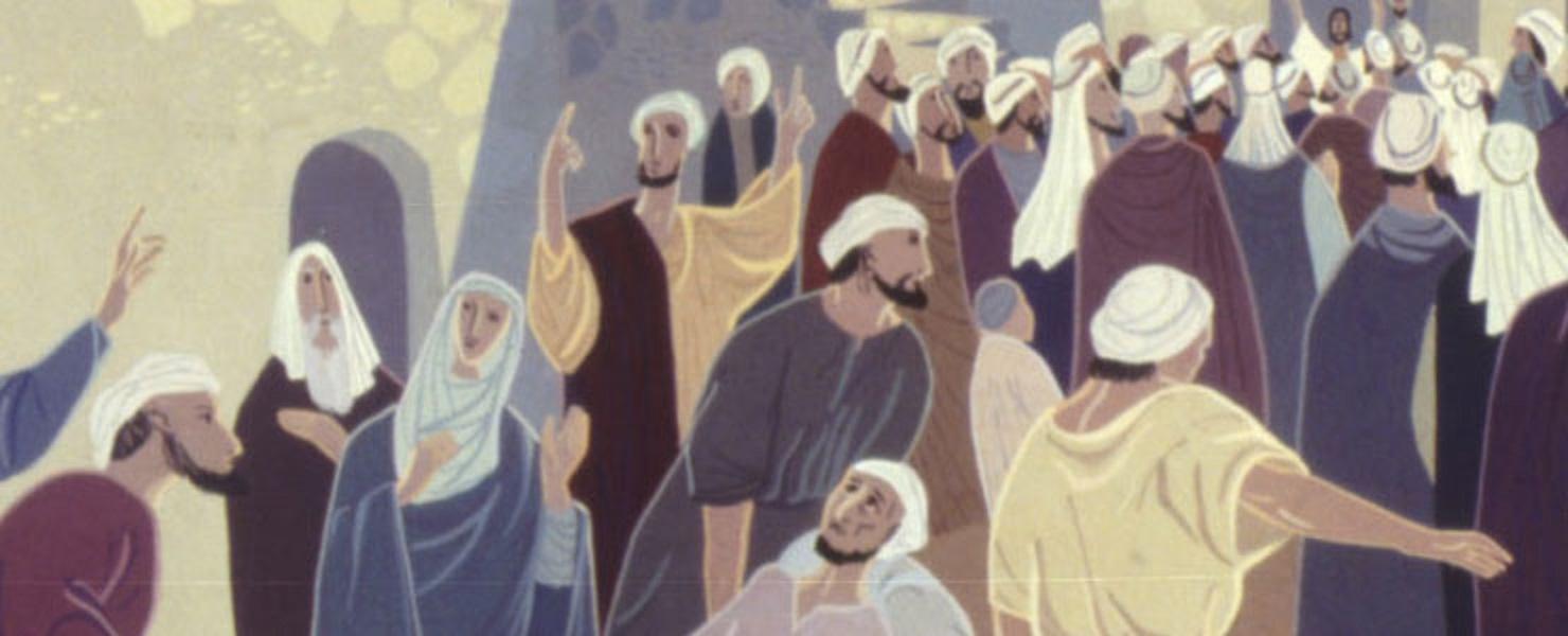 Jésus et la foule à guérir 2.jpg