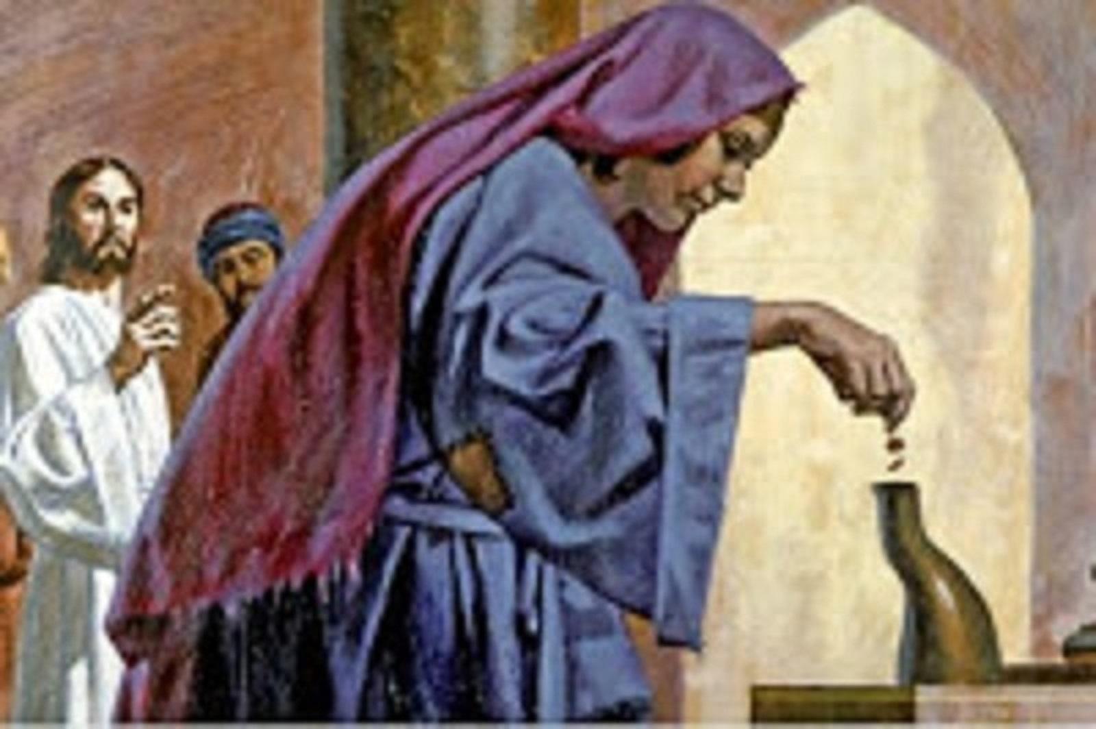 Jésus et l'obole de la veuve dans le Temple 1.jpg
