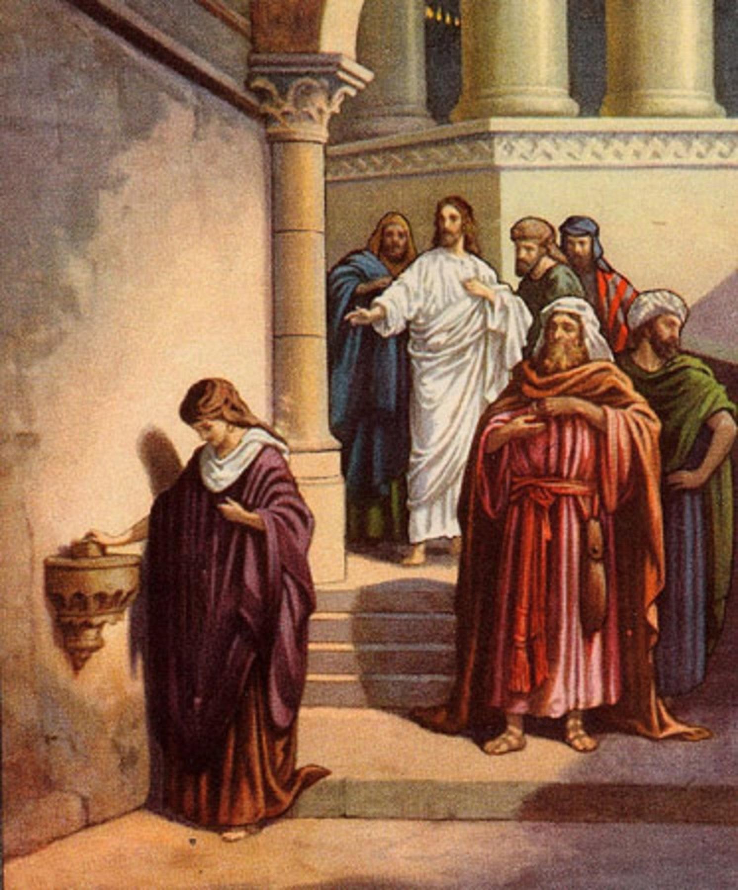 Jésus et l'obole de la veuve dans le Temple 4.jpg