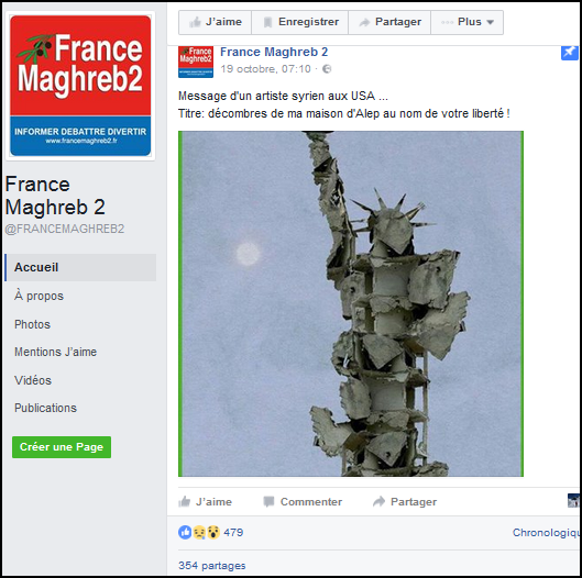 syrie statue liberte FB France Maghreb 2.png