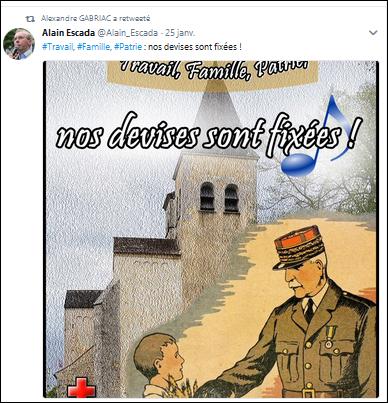 Escada twitt Pétain.png