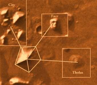 Visage de Mars et ces pyramides