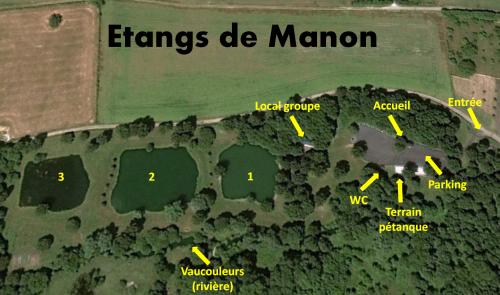 Plan étangs