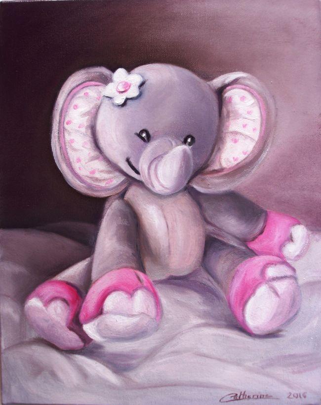 Les doudous d'Emma - L'éléphanteau