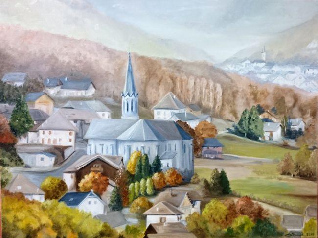 Saint Rémy vu des