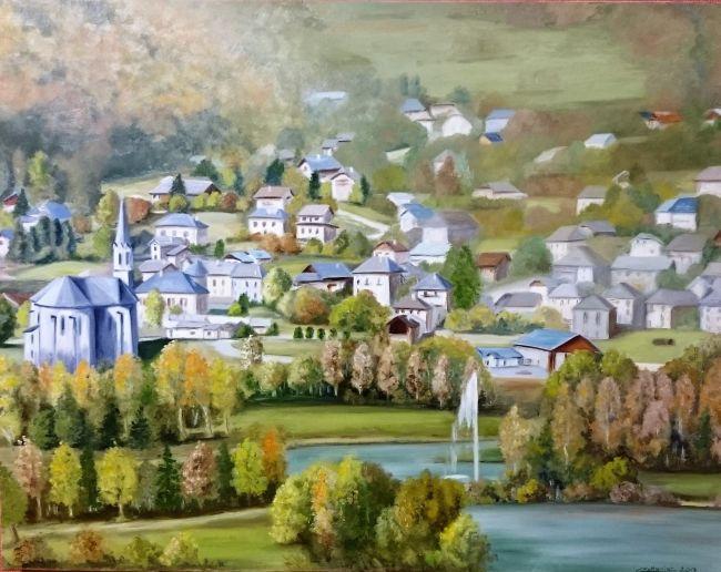 Saint Rémy vu des Chavannes