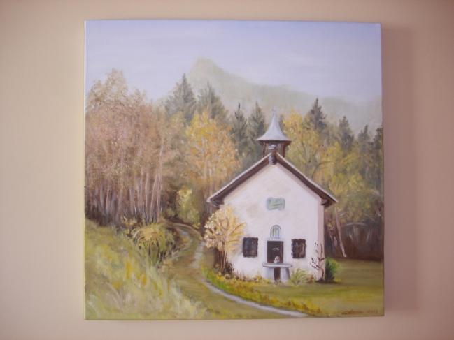 La chapelle Sainte Marguerite au Replat