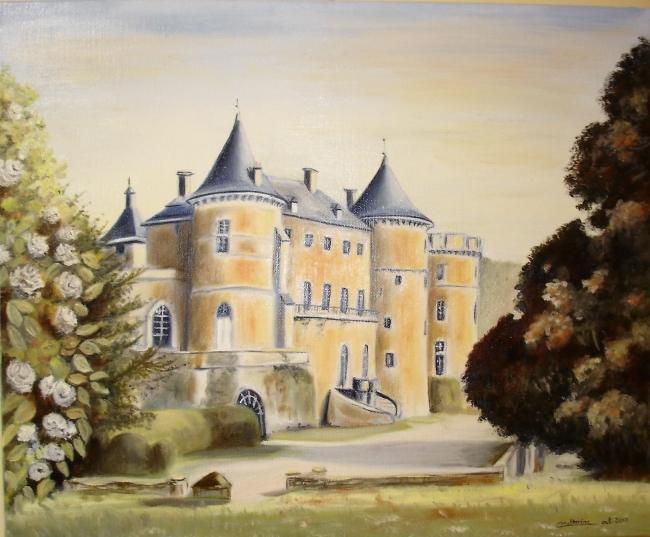Le château de Chastellux sur Cure