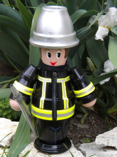 Pompier ( h 40 cm )