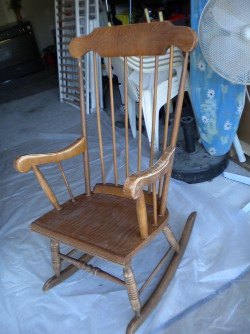 rocking chair brut de pomme