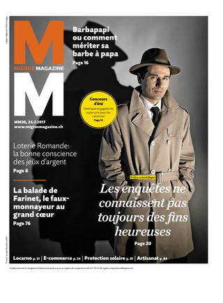 Migros Magazine 24 juillet 2017 couverture Nicolas Quinche Alain Portner.jpg