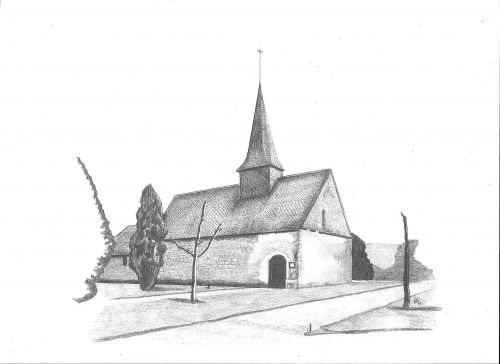 Eglise au Fusain